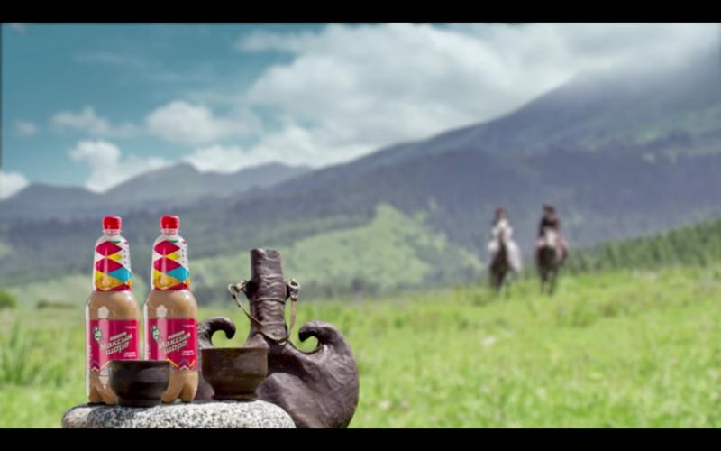 Screenshot from full-length advert uploaded on Shoro's Youtube channel.