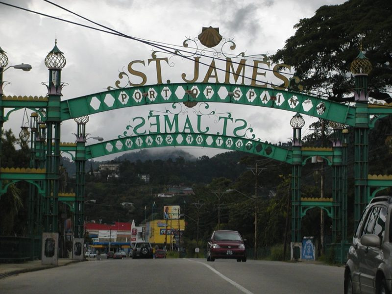 "The St. James Arch denoting the entrance to ""the city that never sleeps"", Port of Spain, Trinidad. Photo by Debangsu, used under a CC BY-NC 2.0 license."