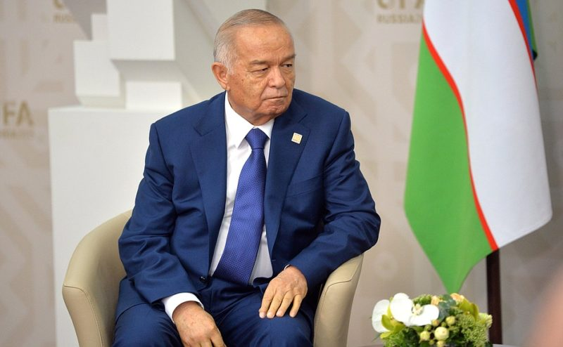 Karimov in Moscow last year. Russian government image, licensed for redistribution.