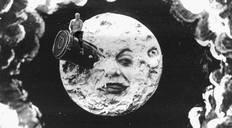 Image adapted from Georges Méliès' famous film, Le voyage dans la Lune.
