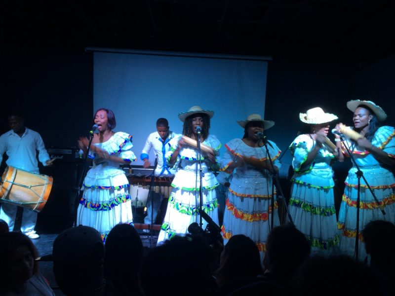 Canalón de Timbiquí is a traditional Afro-Colombian ensemble from Colombia's Pacific coast. Credit: Betto Arcos