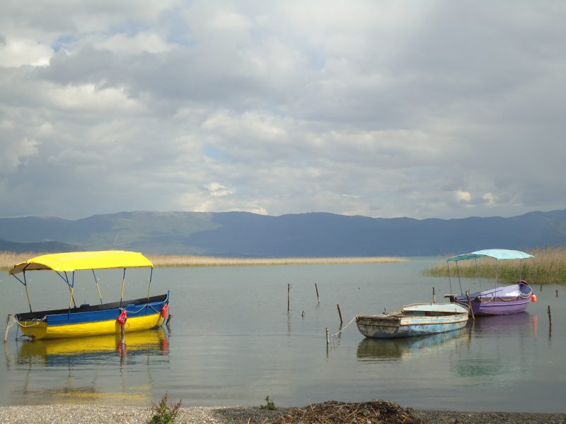 Struga, on the shore of Lake Ohrid (Photo MB)