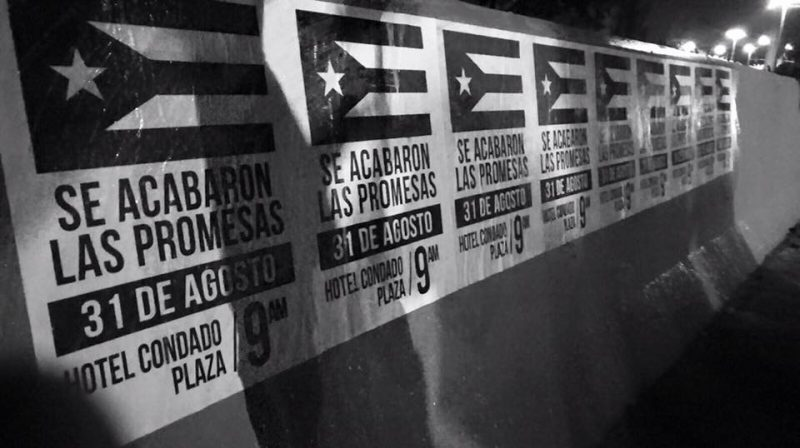 Wallposters in Puerto Rico