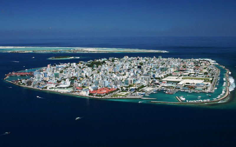 Malé , capital of Maldives. Photo by Shahee Ilyas via Wikimedia Commons (CC BY-SA 2.0)