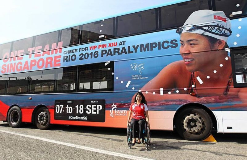 Paralympic swimmer Yip Pin Xiu won two gold medals in Rio. Photo from Yip Pin Xiu's Facebook page
