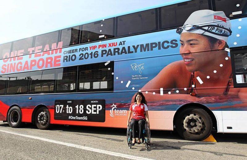 Паралимпийский пловец Ин Пин Сю завоевал две золотые медали в Рио. Фотография со страницы Ин Пин Сю в Facebook.