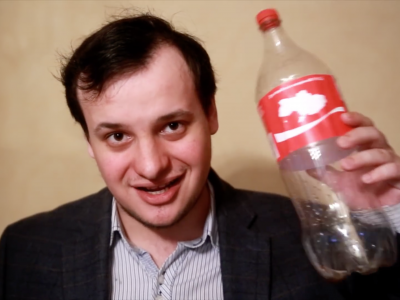 Russian TV Airs 'Separatist Coca-Cola' Prank Video As Real News Footage