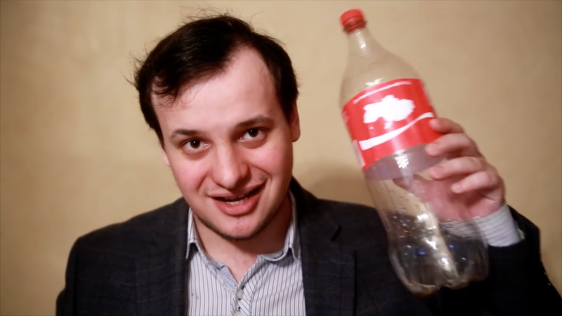 Mikhail Pashkov. Image: YouTube
