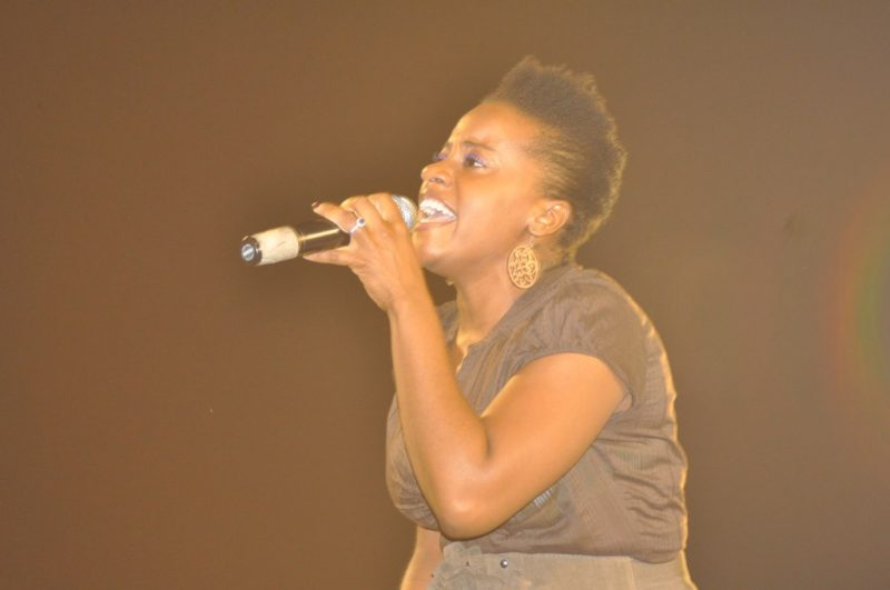 Jamaican singer Etana; photo by Yorkali Walters, used under a CC BY-NC-ND 2.0 license.
