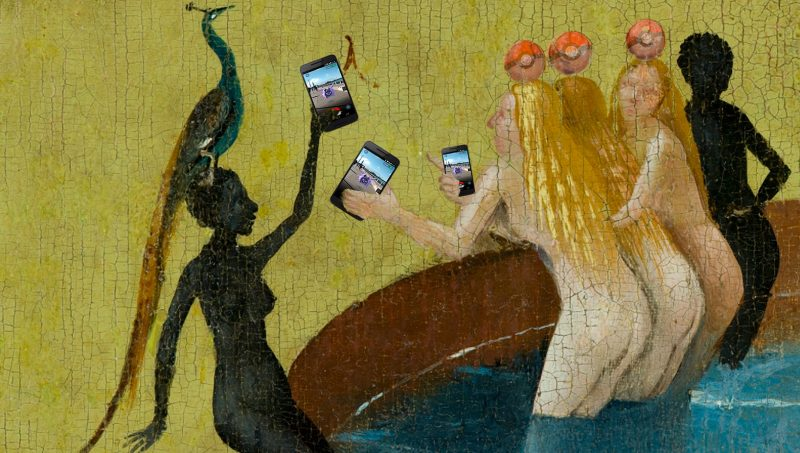 The Pokegarden of Earthly Delights. By Hieronymus Bosch. Edited by Kevin Rothrock.