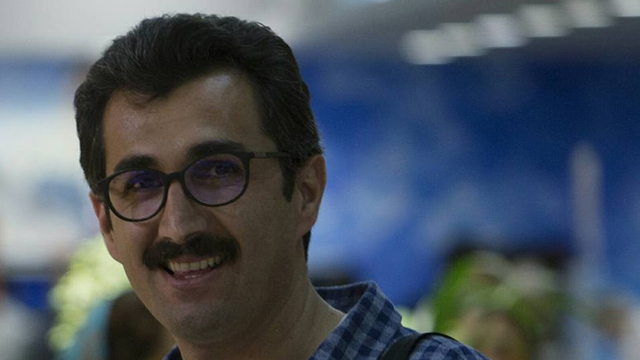 Sadra Mohaghegh, the social affairs editor of the reformist Shargh newspaper, was arrested on September 19, 2016, but the circumstances surrounding his arrest and the charges against him are unclear, according to his lawyer. Image from ICHRI and use with permission.