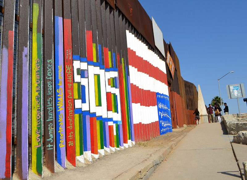 The US-Mexico border. Photo by Flickr user Brooke Binkowski. CC BY 2.0
