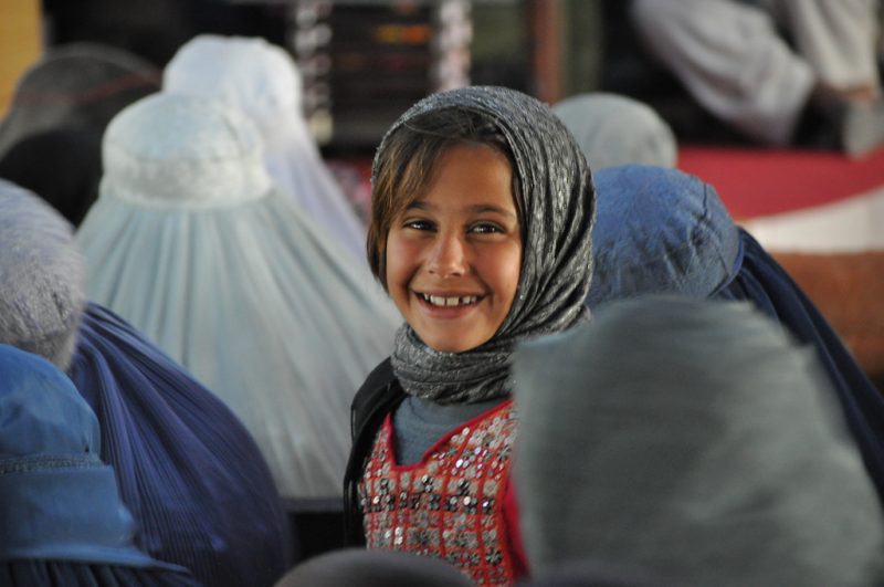 Girls in Afghanistan. DFID UK Flickr.