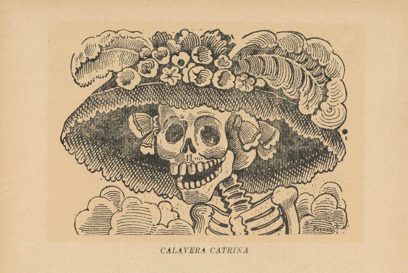 La Calavera Catrina. Public domain.