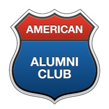 The American Alumni Club's logo. Source: VKontakte.