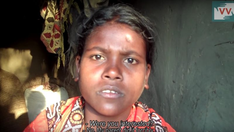 A wife at 12, Mexiri from Odisha suffered domestic violence at the hands of her husband and in-laws. Screenshot from the video