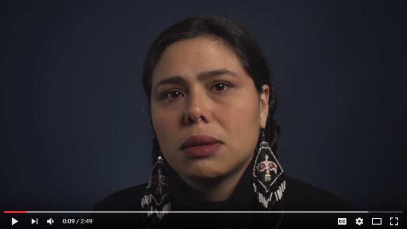 "Native Americans to respond to ""Christopher Columbus."" The video, produced by WatchCut Video, was originally published in November 2015, but circulated again on social media around Columbus Day 2016."