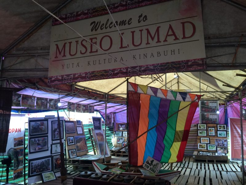 This Museum in a Protest Camp Documents the Struggles of Lumad