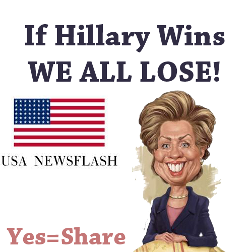 A meme from the USA Newsflash Facebook page. USAnewsflash.com is one of the websites registered to a domain user in Macedonia that was recycling fake pro-Trump on the web and social media.