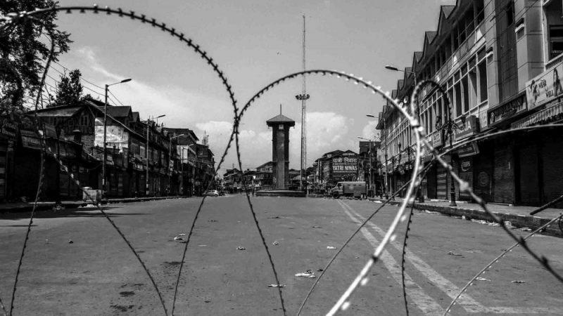 Комендантский час в Кашмире. Фото автора.