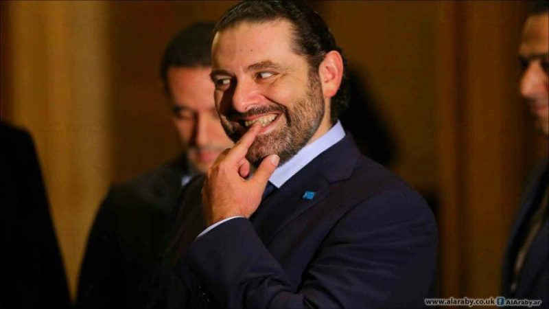 "Lebanese Prime Minister Saad Hariri does not seem to like this ""unofficial"" photo of him by Photojournalist Hussein Baydoun. Photo used with permission"