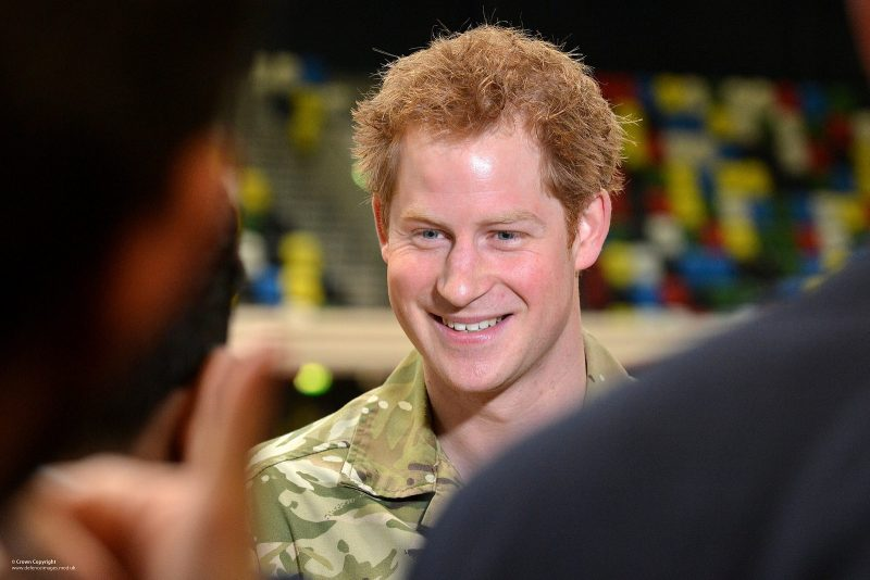 HRH Prince Harry at an announcement for the 2014 Invictus Games. Photo by Defence Images. Photographer: Sergeant Steve Blake RLC. CC BY-NC-ND 2.0