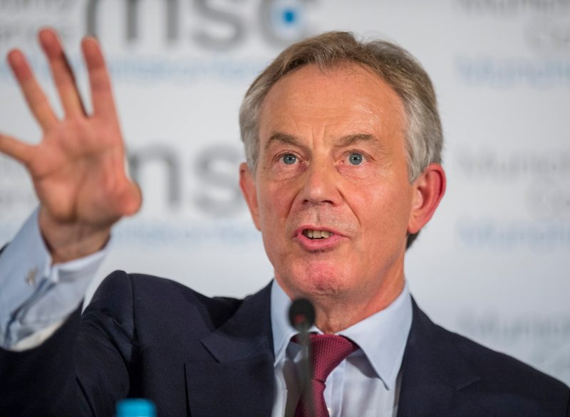 Tony Blair refused to be paid in Trump Tokens. Wikipedia image.