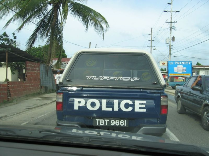 A Trinidad and Tobago Police Service (TTPS) vehicle. Photo by Taran Rampersad, used with permission.