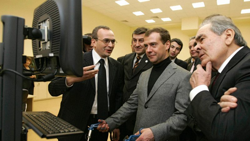 Russian Prime Minister Dmitry Medvedev. Source: Wikimedia Commons