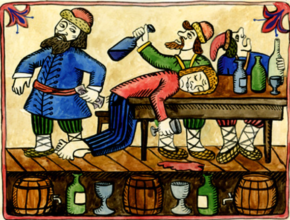 Russian lubok about alcoholism. Source: paukrus, Flickr. CC 2.0