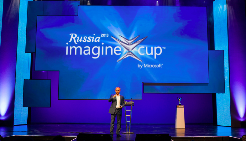 Nikolay Pryanishnikov, President of Microsoft Russia. Source: Imagine Cup, Flickr. CC 2.0
