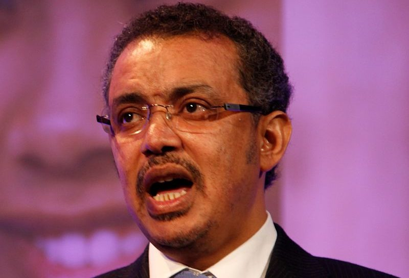 Tedros Adhanom. Creative Commons image b y Russell Watkins/UK Department for International Development.