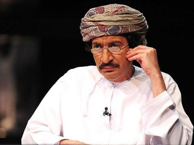 Abudlah Habib. Photo shared on the Facebook page: Freedom to Omani Intellectual and Writer Abdullah Habib