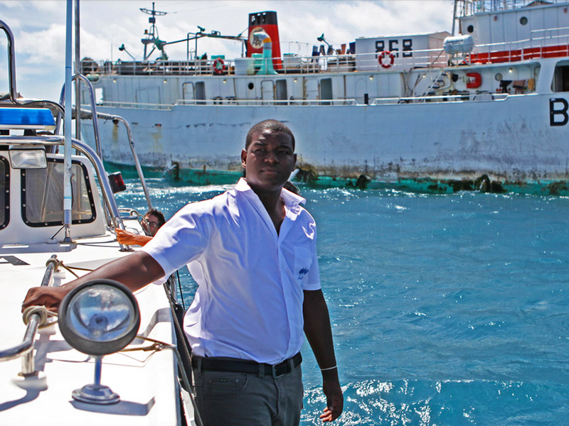 Photo courtesy of FISH-i Africa — an endeavor working to halt large-scale illegal fishing.