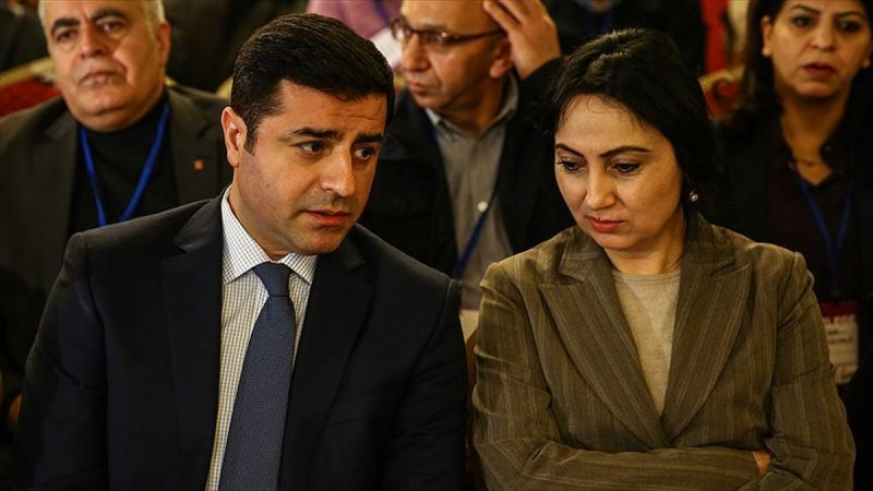 HDP co-chairs Selahattin Demirtas and Figen Yuksekdag. YouTube screenshot.