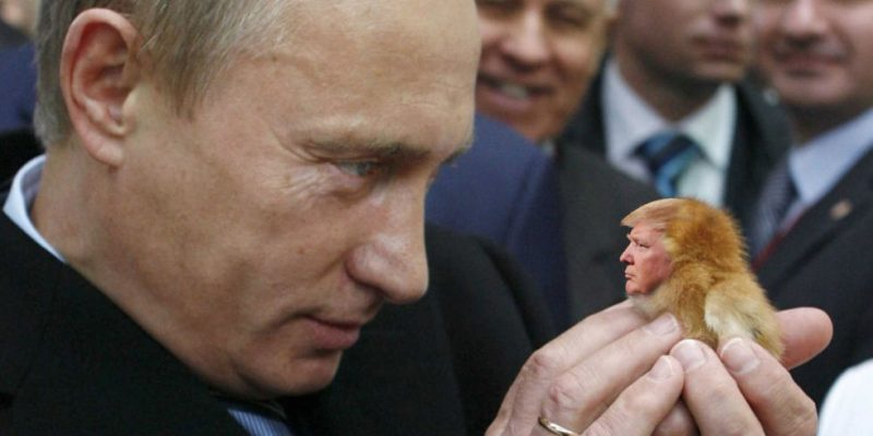 One of countless Putin-Trump Internet memes.