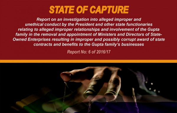 Cover image of State of Capture report.