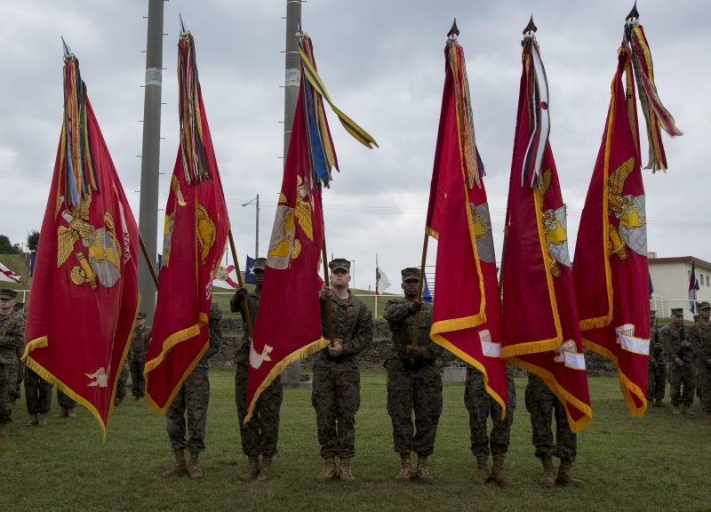 3rd Marine Division Change of Command Ceremony
