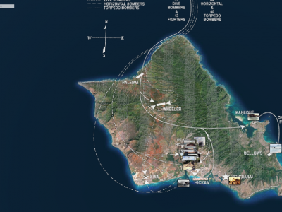 Innovative Japanese Mapping Project Returns With Interactive Map of 1941 Pearl Harbor Attack