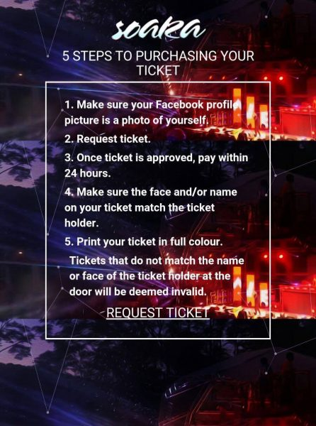 The five-step process; shared on the Trinidad Carnival Diary Facebook page.