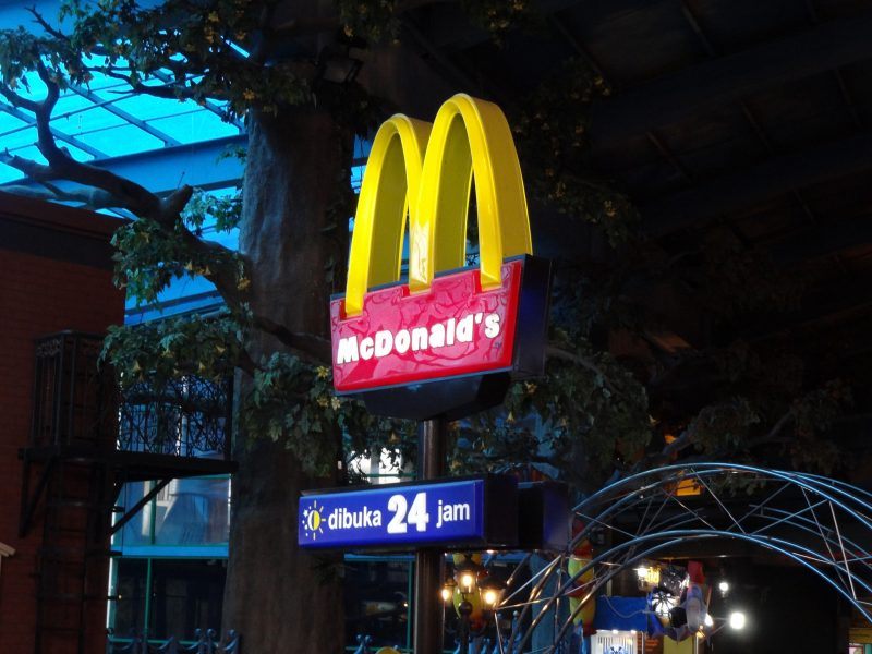McDonald's in Malaysia. Photo from the Flickr page of Martin Lewison, CC License
