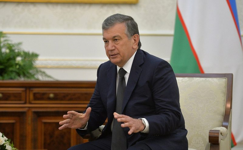 Uzbekistan's president-to-be, Shavkat Mirziyoyev. Russian government image, licensed to reuse.