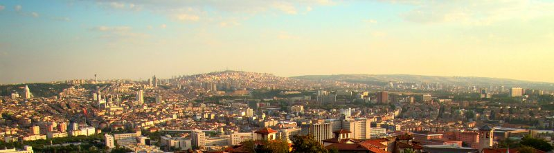 Ankara panorama. Creative commons.