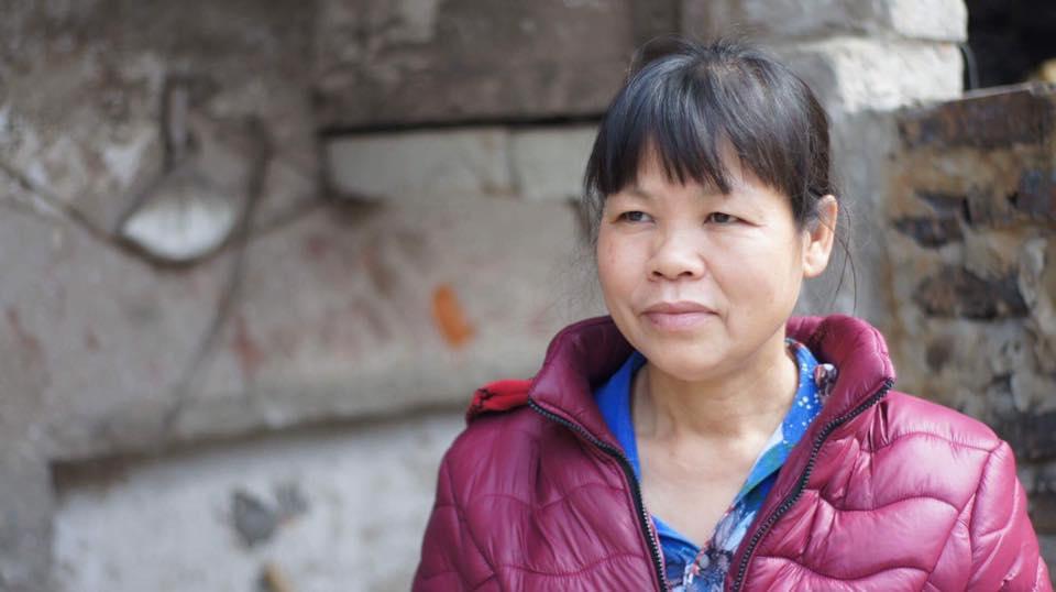 Land rights activist Cấn Thị Thêu before her arrest. Image: Facebook/Trịnh Bá Phương