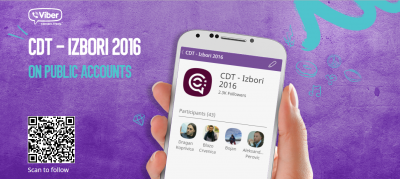 The public Viber channel for elections in Montenegro and beyond.