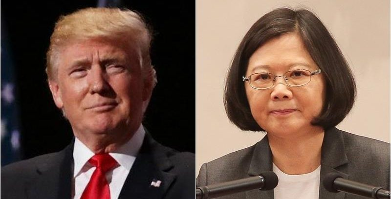 Trump and Tsai