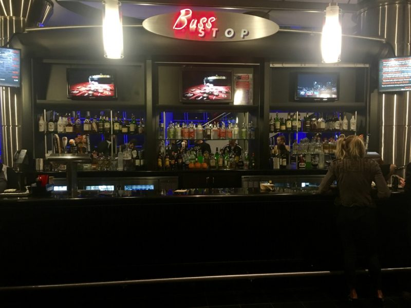 The bar at the L.A. Kings stadium. Photo: Andrew Ivakhov