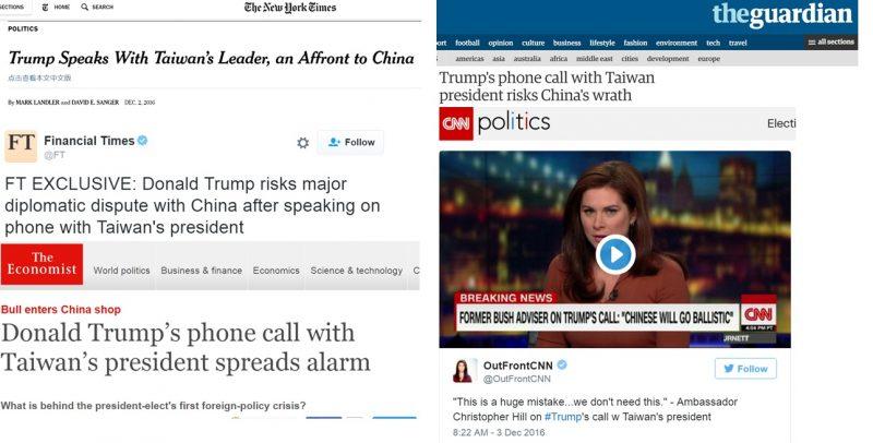 Trump and Tsai