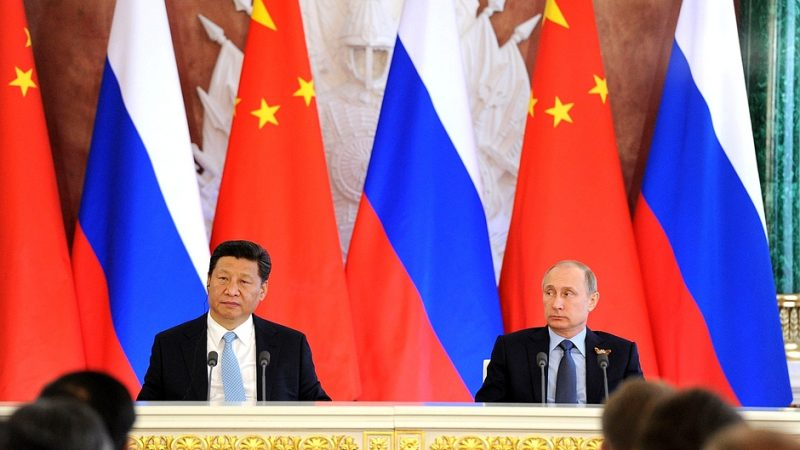 Russian President Vladimir Putin and Chinese leader Xi Jinping. Source: Kremlin.ru, CC 2.0