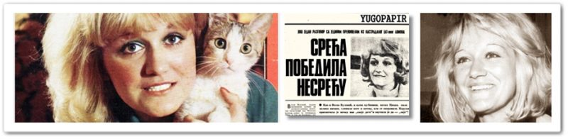 Scans of news items about Vesna Vulović from 1970s Yugoslav press, provided by Yugopapir. Used with permission.